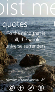 quotes screen