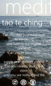 tao te ching screen