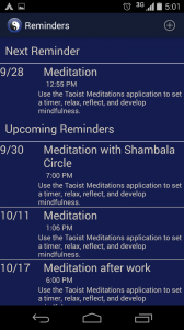 TM Android Reminders